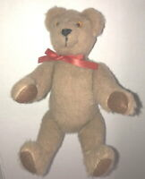 Wanda Jackson USA Teddy Bear Artist OOAK Brown Bear Vintage Wool Felt MINT