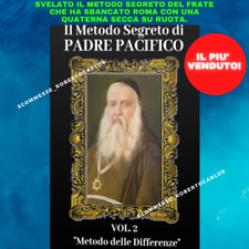 [METODO DELLE DIFFERENZE] scommesse lotto segreto di Padre Pacifico vol.2