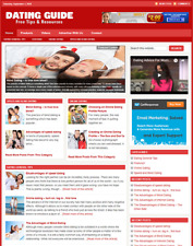 DATING GUIDE - Responsive Niche Website Business For Sale - Free Installation