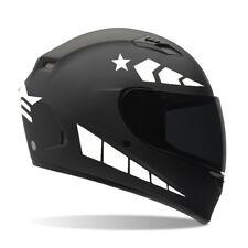 Reflective Bike Vinyl Sticker Decal In Reflective White / Helmets / Bike/ safety