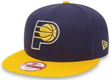 New Era NBA Indiana Pacers Snapback Team Logo Cap 9fifty 950 Basecap S/M S M