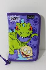 Vintage Nickelodeon Rugrats Reptar Puffy Zippered Notebook ADORABLE FUN!!