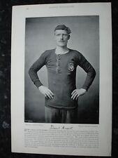 RARE Original Famous Footballers, #148 David Russell, Preston Football 1895 - 96