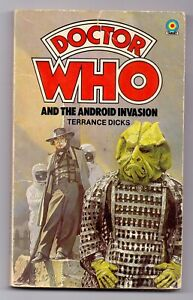 Doctor Who and The Android Invasion 1st Edition Target Paperback Book 1978