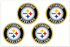 (4) Pittsburgh Steelers NFL Decals / Yeti Stickers *Free Shipping