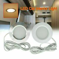 12V Interior Caravan Camper RV Trailer Boat LED Down Light Ceiling Spot Lamp CN