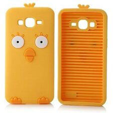 Yellow Silicone Cute Chicken Phone Case / Cover for Samsung Galaxy Grand Prime