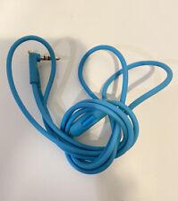 Beats by Dr. Dre Solo HD 3.5mm Aux Audio Cable w/ RemoteTalk - Light Blue