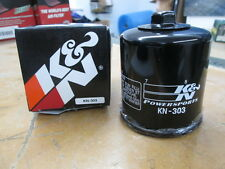Open Box K & N K&N Black Oil Filter Honda CBR900RR GL1500 VFR750 VT600 KN-303