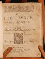 1606 Of the Church by RICHARD FIELD First Edition