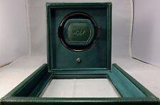 WOLF CUB ROLEX GREEN WATCH WINDER BOX W/ COVER 461141 2 YEAR FACTORY WARRANTY