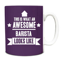 This is what an AWESOME Barista Looks like Mug Gift idea coffee cup 017