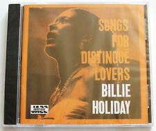 BILLIE HOLIDAY ~ SONGS FOR DISTINGUE LOVERS ~ NEW CD Sealed