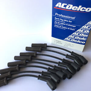 New OEM ACDELCO PROFESSIONAL 9748UU Spark Plug Wire Set for GM Vehicles