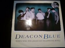 When Will You (Make My Telephone Ring) EX (Deacon Blue - 1987) DEAC T3 (ID:15112