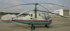 Ka-15 Hen Kamov Light Utility Helicopter Wood Model Replica Large Free Shipping
