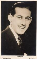 Eddie Pola British Radio Pictorial Photo Card Broadcasting BBC 1930's