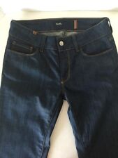 AZALEE Notify Jeans Opium Flare Size 28med/ deep blue denim nwot Italy