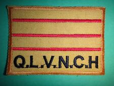 South Vietnamese Army ARVN Q.L.V.N.C.H Machine Embroidered Patch