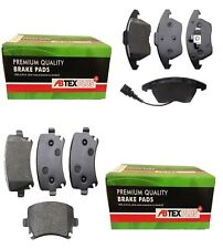 FRONT AND REAR BRAKE DISC PADS FITS VW GOLF MK5 2.0 Tdi 2005 -