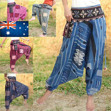 Handmade Harem Regular Size Pants for Women
