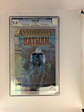 Batman #400 (1986) CGC 9.4 White Pages  Perez - Art Adams - Moench - Wrightson