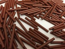 LEGO 17715 - NEW Brown Stick Bar Shaft Pole (2 Sizes) - 4 Pieces Of Each Size