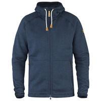 Fjallraven Men's Ovik Fleece Hoodie NAVY 82252 (M - L - XL)