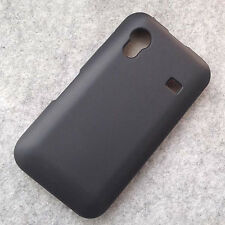 New Black TPU Matte Gel skin Case Cover For Samsung Galaxy Ace S5830
