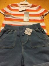 $34.00 Boys Splendid Stripped shirt with shorts18-24 month A 52