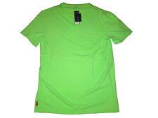 Polo Ralph Lauren Neon Green Dyed Surf Beach Resort Custom Fit T Shirt Medium