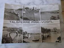 Schallplatten-Ansichtskarten ab 1945 aus Sachsen mit dem Thema Talsperre AK