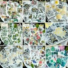 2020 Vintage 60x/Set Washi Paper Gilding Scrapbooking Stickers DIY Journal Decor