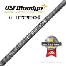 New - UST Mamiya Recoil 460 F3 Irons Graphite Parallel Tip Shaft Regular Flex