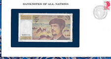 *Banknotes of All Nations France 20 Franc 1980 AUNC P 151a series V.006