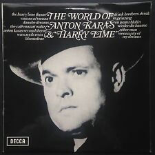 The World Of Anton Karas and Harry Lime THIRD MAN soundtrack LP 71 Vienna zither