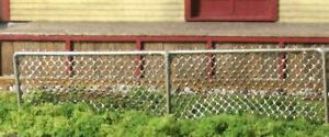 Motrak Models 100' Scale Chain Link Fence Kit, HO Scale