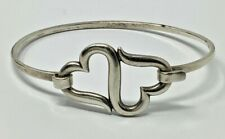 James Avery Sterling Silver Heart To Heart Hook On Bracelet 6.25