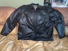 Genuine Wilson's Leather Jacket/Coat, Men's Size 3XLT Pristine Condition