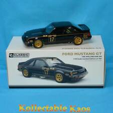 Classic Carlectables 18697 1/18 Ford Mustang GT 1986 Wellington 500 2nd Place BR