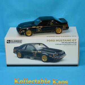 1:18 Classics - 1986 Wellington 500 - Ford Mustang GT - Johnson/Crichton 18697