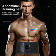EMS Muscle Train Gear ABS Stimulater Abdominal Waist Body Exercise Fitness Belt