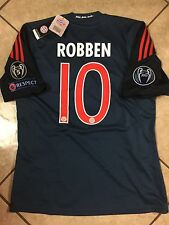 Germany Uefa bayern Munich Shirt Robben Small Trikot jersey Fifa Club Patch