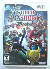 Nintendo Wii Super Smash Bros Brawl Case And Manual Only NO GAME