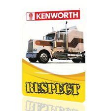 METAL SIGN KENWORTH W900 Truck Collectors Decor Garage Classic MOTOR Respect