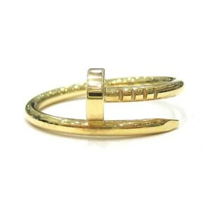 Cartier ring Yellow gold Juste un Clou ring 51 US size 5.5 Auth #072512