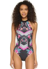 966b30d2fe NEW MINKPINK Beach Blossom Halter One Piece Swimsuit Size Medium