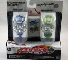 Hasbro Beyblade Metal Masters Shadow Strike Standoff Dark Wolf BB-29B, Ray Se...