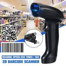 2.4G 2D bluetooth Barcode Scanner Handscanner Bar Code Reader Gun +Halterung