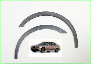 BMW 5er E39 Radlauf Zierleisten satz 4 Stück SCHWARZ Kotflügel Tuning Bj. 95-03